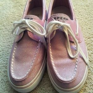 Sperry Pink Sparkle